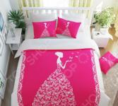 Комплект постельного белья Сирень «Принцесса». Семейный