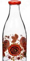 Бутылка для молока Камышин «Хохломские мотивы»
