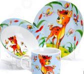 Набор посуды для детей Loraine «Бемби» LR-27330