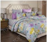 Комплект постельного белья Santalino «Цветы». Евро