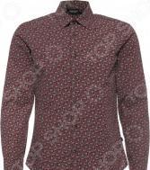 Рубашка Finn Flare B17-22032. Цвет: вишневый