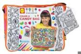 Сумка-раскраска Alex «Раскрась сумку с узором из конфет»