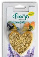 Камень минеральный для птиц Fiory с лавандой в форме сердца Hearty Big