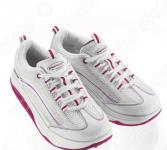 Кроссовки Walkmaxx 2.0. Цвет: белый, розовый