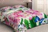 Комплект постельного белья «Лилии». Евро