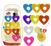 Маркеры для бокалов Мультидом «Сердце» VL13-109