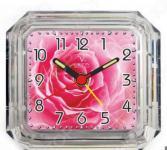 Будильник Вега Б 1-051 «Розы»