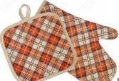 Набор: прихватка с рукавицей BONITA «Принц Уэльский»