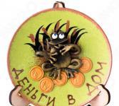 Тарелка декоративная «Денежная лягушка» 135-5000