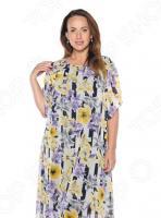Платье Гранд Гром «Седьмой лепесток». Цвет: желтый