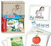 Игра развивающая Vladi Toys «Дидактический материал с магнитами» English
