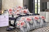 Комплект постельного белья «Цветочный Вальс». 1,5-спальный. Рисунок: нежность