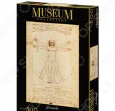 Пазл 500 элементов Clementoni «Музей. Витрувианский человек»