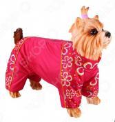 Комбинезон для собак DEZZIE «Той-терьер». Цвет: красный