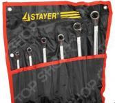 Набор ключей накидных изогнутых Stayer «Мастер» 27151-H6