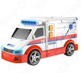 Машинка со светозвуковыми эффектами HTI «Скорая помощь»