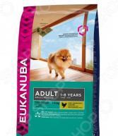 Корм сухой для собак миниатюрных пород Eukanuba Adult Toy Breed