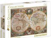 Пазл 1000 элементов Clementoni HQ «Древняя карта мира»
