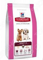 Корм сухой для собак миниатюрных пород Hill's Science Plan Small&Miniature с курицей и индейкой