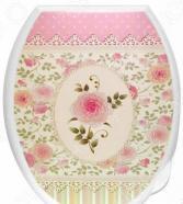 Сиденье-крышка для унитаза Violet 1110/65 «Чайная роза»