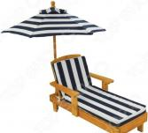 Шезлонг с зонтом KidKraft 00105-KE