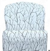 Натяжной чехол на кресло без подлокотников Еврочехол «Ванесса»