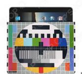 Чехол для iPad Mitya Veselkov «ТВ-сетка»