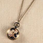 Кулон-часы Mitya Veselkov «Японский мотив»