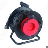 Удлинитель силовой на катушке из пластика Эра RP-1-2x1.0-30m