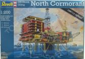 Сборная модель нефтяной платформы Revell 08803R «Северный корморант»