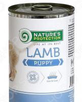 Корм консервированный для щенков Nature's Protection Puppy Lamb «Ягненок»