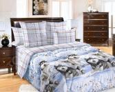 Комплект постельного белья Королевское Искушение «Хаски». Семейный