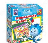 Игра магнитная Vladi Toys «Безопасность в доме с Фиксиками»