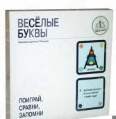 Набор карточек обучающих Знаток «Весёлые буквы»