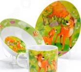 Набор посуды для детей Loraine «Бемби»
