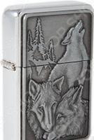 Зажигалка Mitya Veselkov Three Wolfs