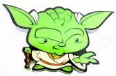 Пробивной светильник 3DlightFX Star Wars Yoda 50019120
