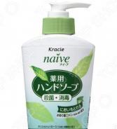 Мыло жидкое для рук Kracie Naive с экстрактом чайного листа
