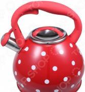 Чайник со свистком Bekker «Горох»