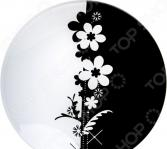 Тарелка Nina Glass «Ромашки»