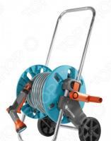 Катушка для шланга на колесах Gardena AquaRoll S с комплектом для полива