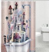 Штора для ванной комнаты Rosenberg RPE-730022