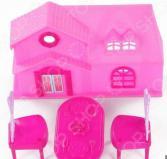 Набор мебели игрушечный Yako с домиком 1724697