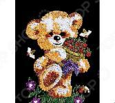 Мозаика из пайеток Shantou Gepai «Мишка»
