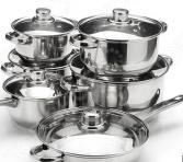 Набор посуды «Бон Аппетит»: 12 предметов. В ассортименте