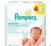 Салфетки влажные для детей Pampers Sensitive 224