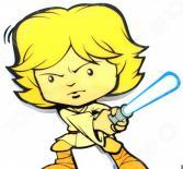 Пробивной светильник 3DlightFX Star Wars Luke Skywalker