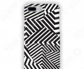 Чехол для iPhone 7 Plus Mitya Veselkov «Черно-белая геометрия»