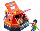 Конструктор игровой Playmobil «Береговая охрана: Спасательный плот»