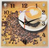 Часы настенные Eurostek «Кофе» 2525-08